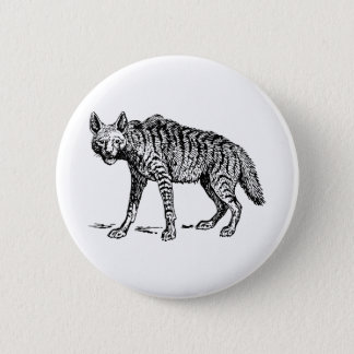 Hyena 2 Inch Round Button