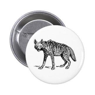 Hyena 2 Inch Round Button
