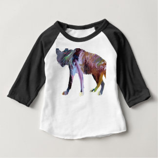 Hyena art baby T-Shirt