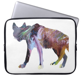 Hyena art laptop computer sleeve