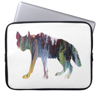 Hyena art laptop sleeve