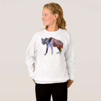 Hyena art sweatshirt