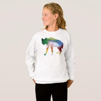 Hyena art sweatshirt