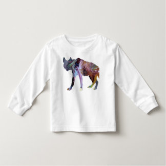 Hyena art toddler t-shirt