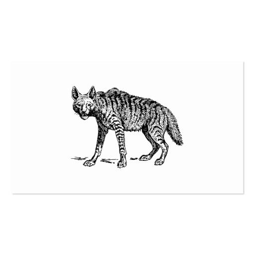 Hyena Business Cards