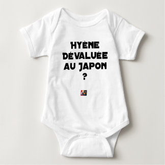 HYENA DEVALUATED IN JAPAN? - Word games Baby Bodysuit