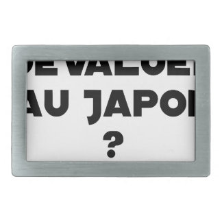 HYENA DEVALUATED IN JAPAN? - Word games Belt Buckle