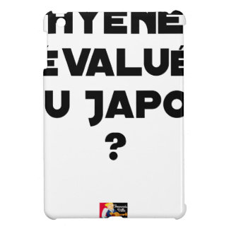 HYENA DEVALUATED IN JAPAN? - Word games Case For The iPad Mini