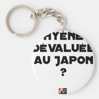 HYENA DEVALUATED IN JAPAN? - Word games Keychain