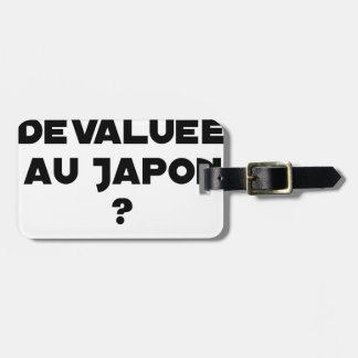 HYENA DEVALUATED IN JAPAN? - Word games Luggage Tag