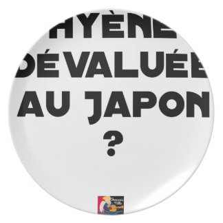 HYENA DEVALUATED IN JAPAN? - Word games Plate