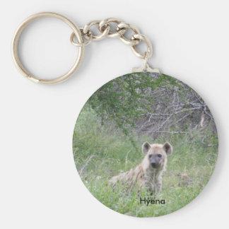 Hyena Keychain