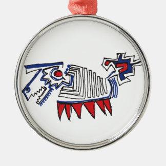 Hyena Metal Ornament