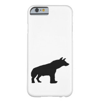 hyena silhouette barely there iPhone 6 case