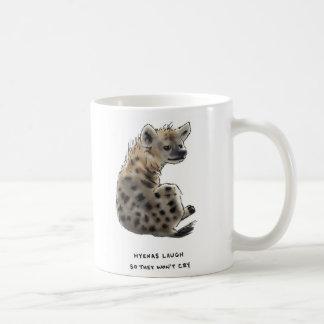 hyena trivia coffee mug