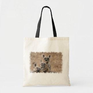 Hyenas Budget Tote Bag