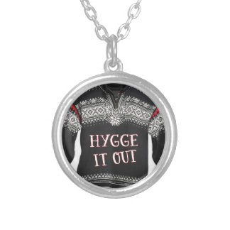 HYGGE IT OUT SILVER PLATED NECKLACE
