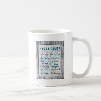 Hygge Rules Coffee Mug