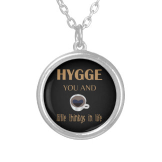 Hygge Silver Plated Necklace
