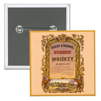 Hygienic Whiskey 1860 - Button 1
