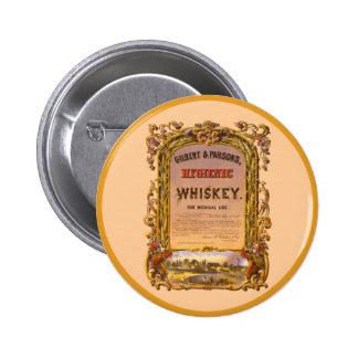 Hygienic Whiskey 1860 - Button 2