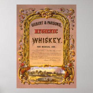 Hygienic Whiskey: 1860 - Poster