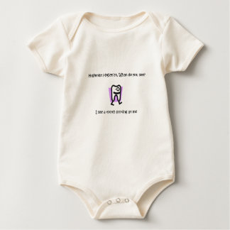 Hygienist Hygienist, What do you see - Customized Baby Bodysuit