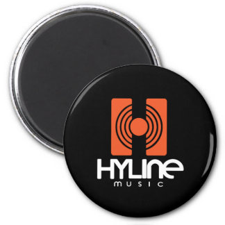 Hyline Music magnet Black/orange