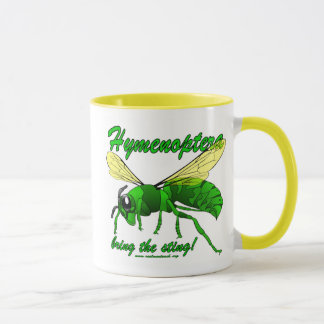 Hymenoptera bring the sting! mug