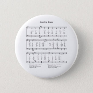 Hymn - Amazing Grace 2 Inch Round Button