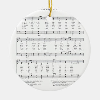 Hymn - Amazing Grace Ceramic Ornament