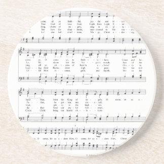 Hymn - O Come All Ye Faithful Coaster