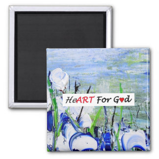 Hymnal 174 square magnet