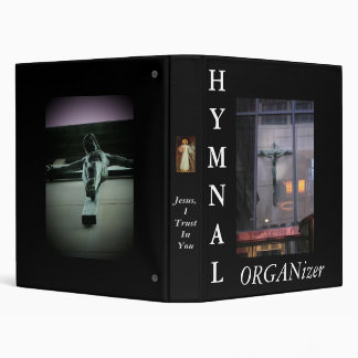 Hymnal Organizer 3 Ring Binder