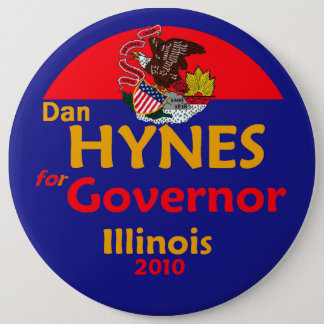 "HYNES Gov 6"" Button"