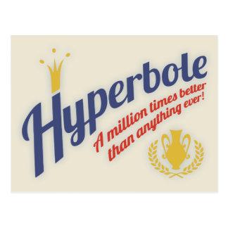 Hyperbole Postcard