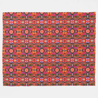 Hyperbolic Chess Fleece Blanket