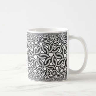 Hyperbolic ribbons 327 coffee mug