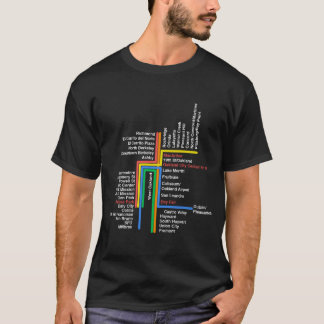 hyperlinear BART for black t T-Shirt