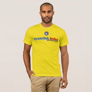 Hyperlink Index Men's Basic American Apparel T-Shirt
