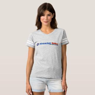 Hyperlink Index Women's Football T-Shirt