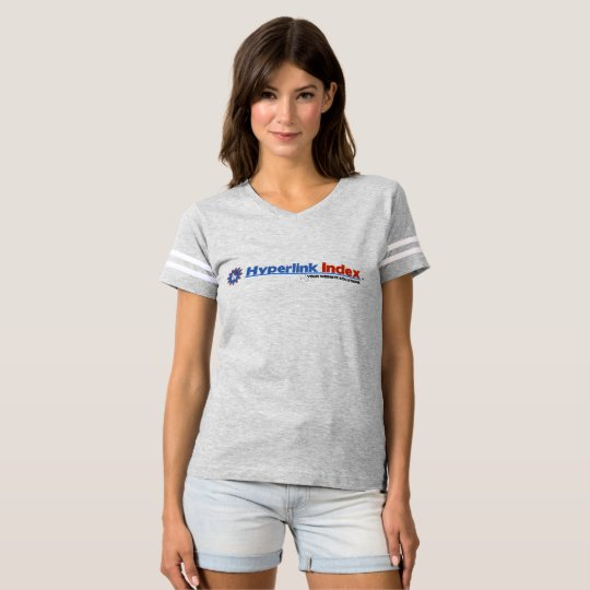 Hyperlink Index Women's Football T-Shirt