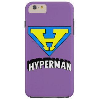 Hyperman logo tough iPhone 6 plus case