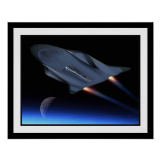 Hypersonic Cruise Vehicle Poster