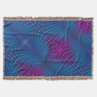 Hyperspace woven throw