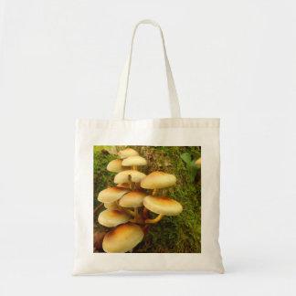 Hypholoma fasciculare Mushroom Tote Bag