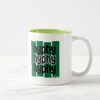 Hyphy Green Two-Tone Coffee Mug