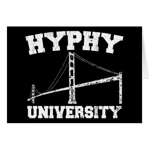 Hyphy University yay area Card