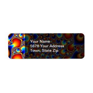 Hypn0sis - Fractal Art Return Address Label