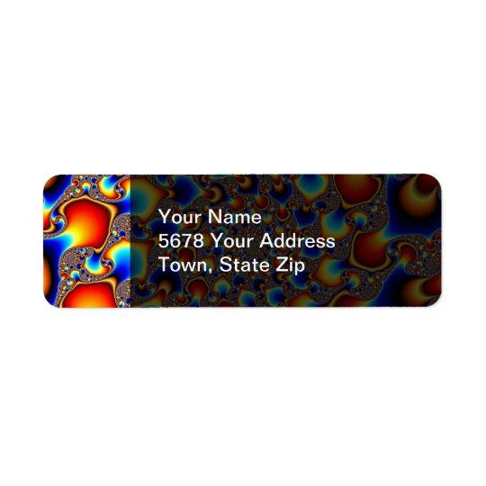 Hypn0sis - Fractal Art Return Address Label